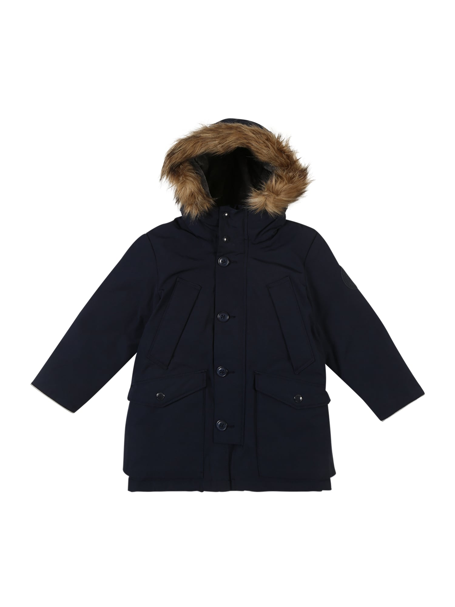 GAP Žieminė striukė 'WARMESTPARKA' tamsiai mėlyna