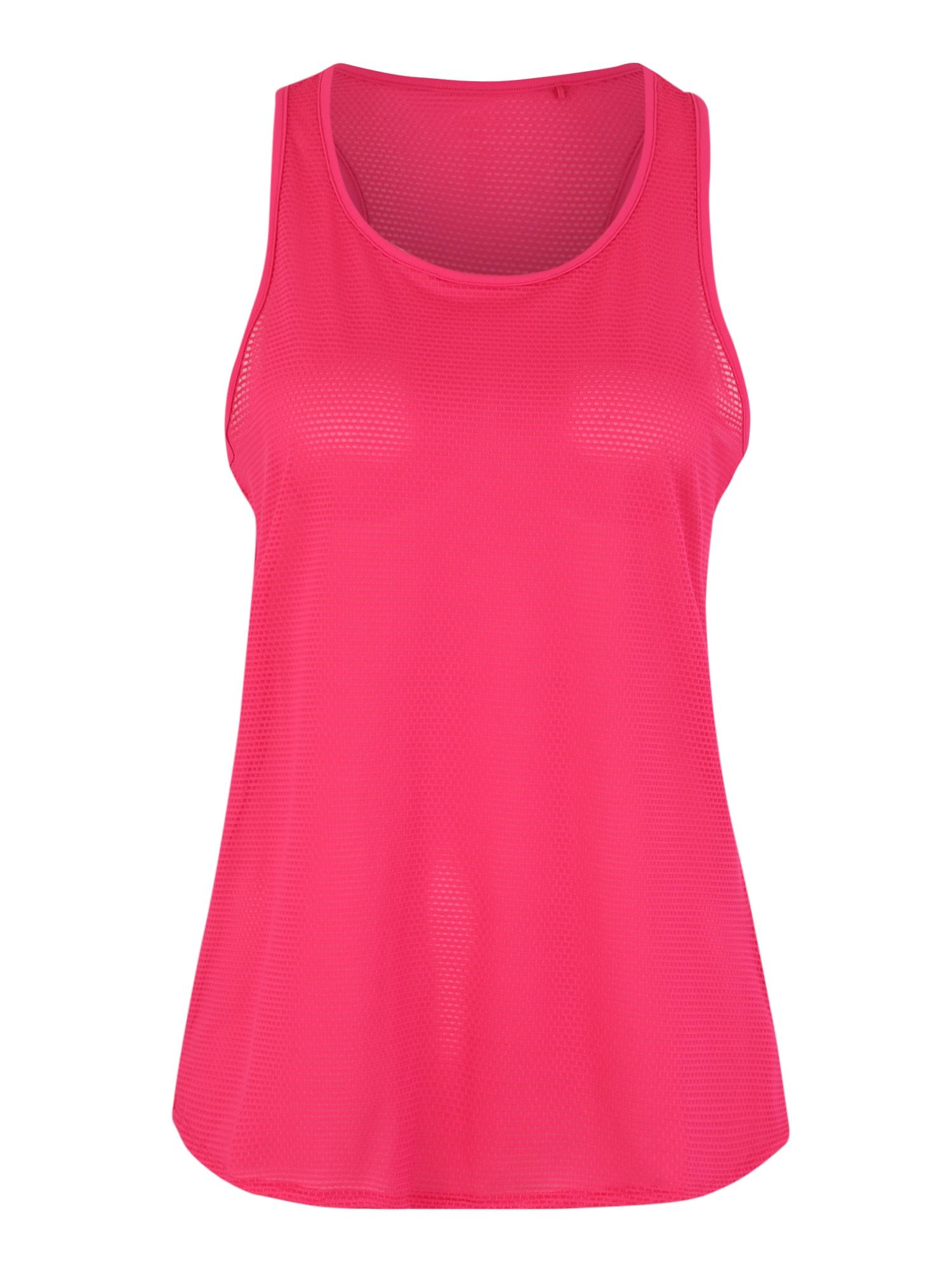 Sportovní top Edry pink bílá ESPRIT SPORTS