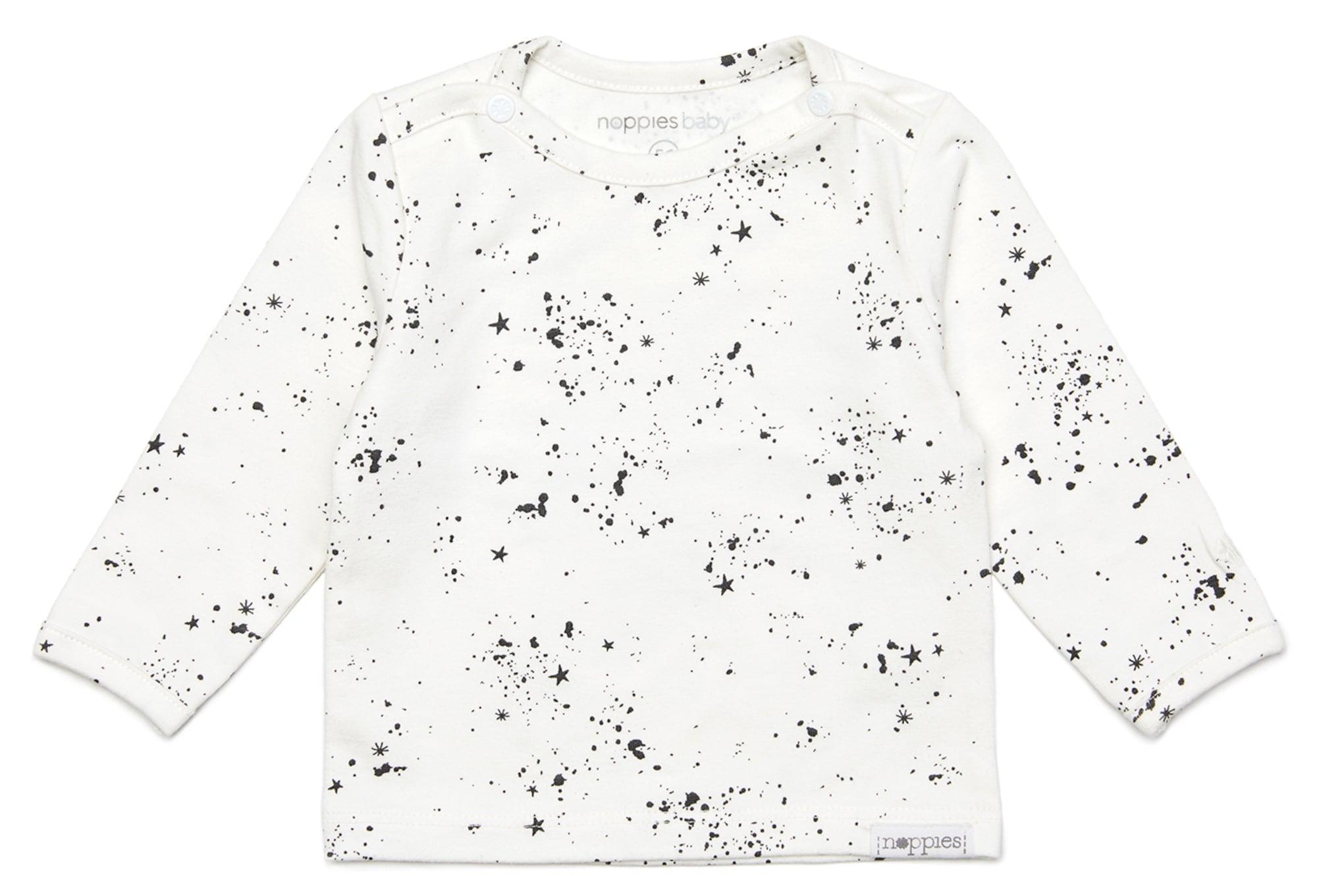 Noppies Marškinėliai 'Gale' balta / juoda