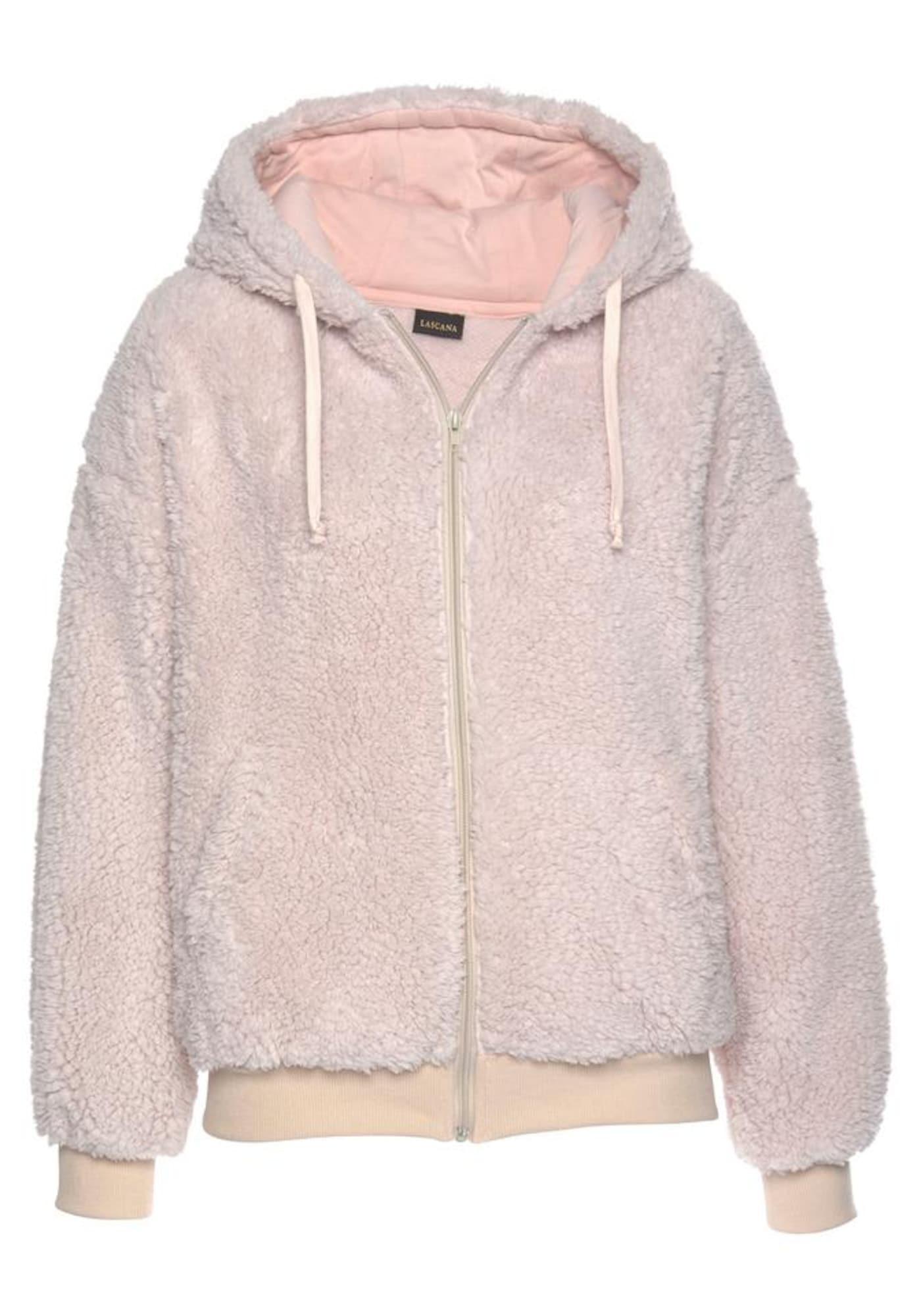 LASCANA Džemperis ryškiai rožinė spalva