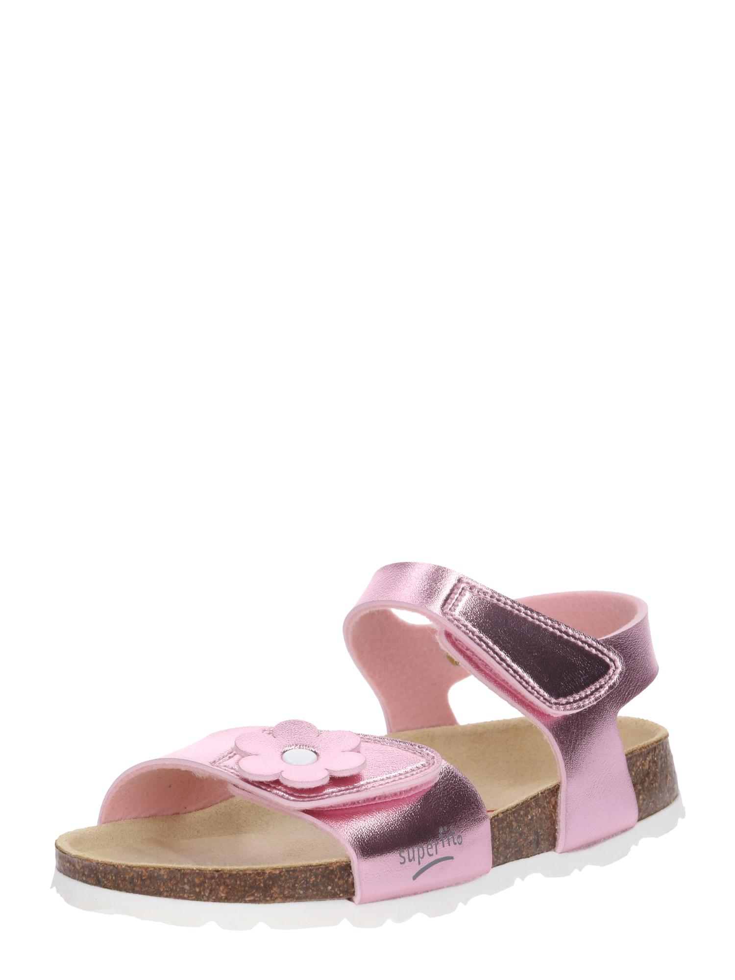 Sandály růžová SUPERFIT