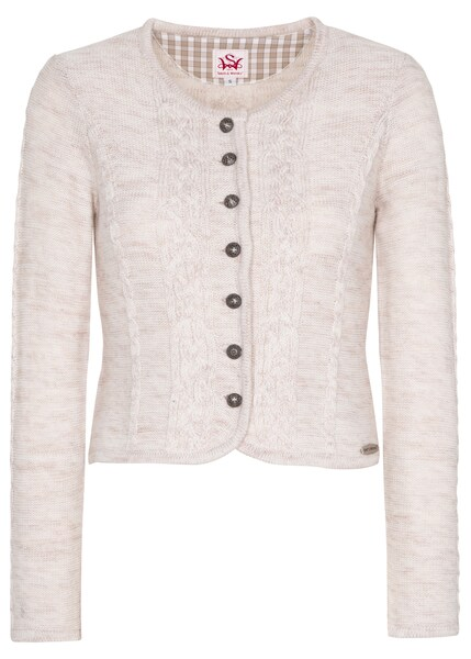 Jacken - Strickjacke 'Bonn' › SPIETH WENSKY › beige  - Onlineshop ABOUT YOU