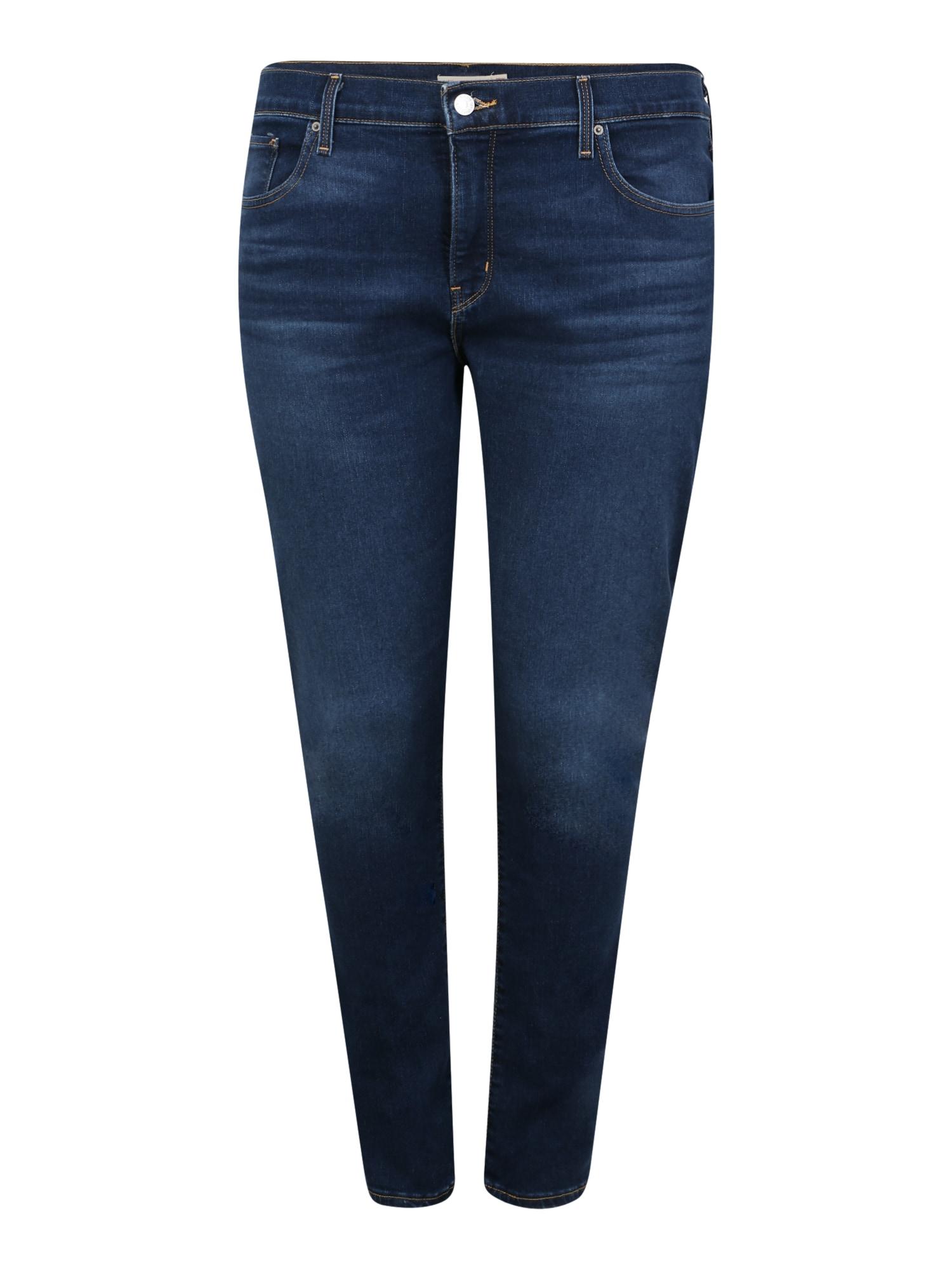 Levi's® Plus Džinsai tamsiai (džinso) mėlyna