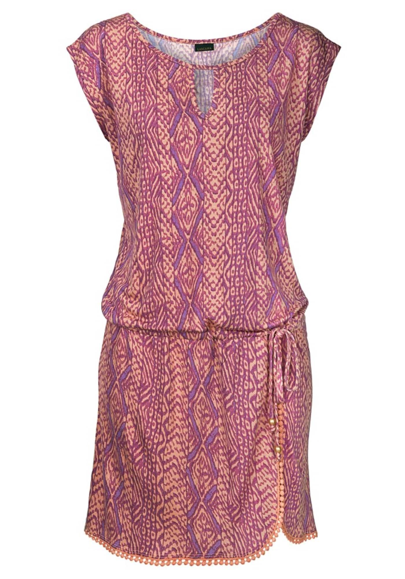 Plážové šaty bledě fialová LASCANA