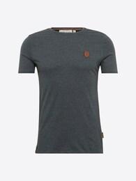 Naketano Herren T-Shirt Dirty Italienischer Hengst grau   04049502791685