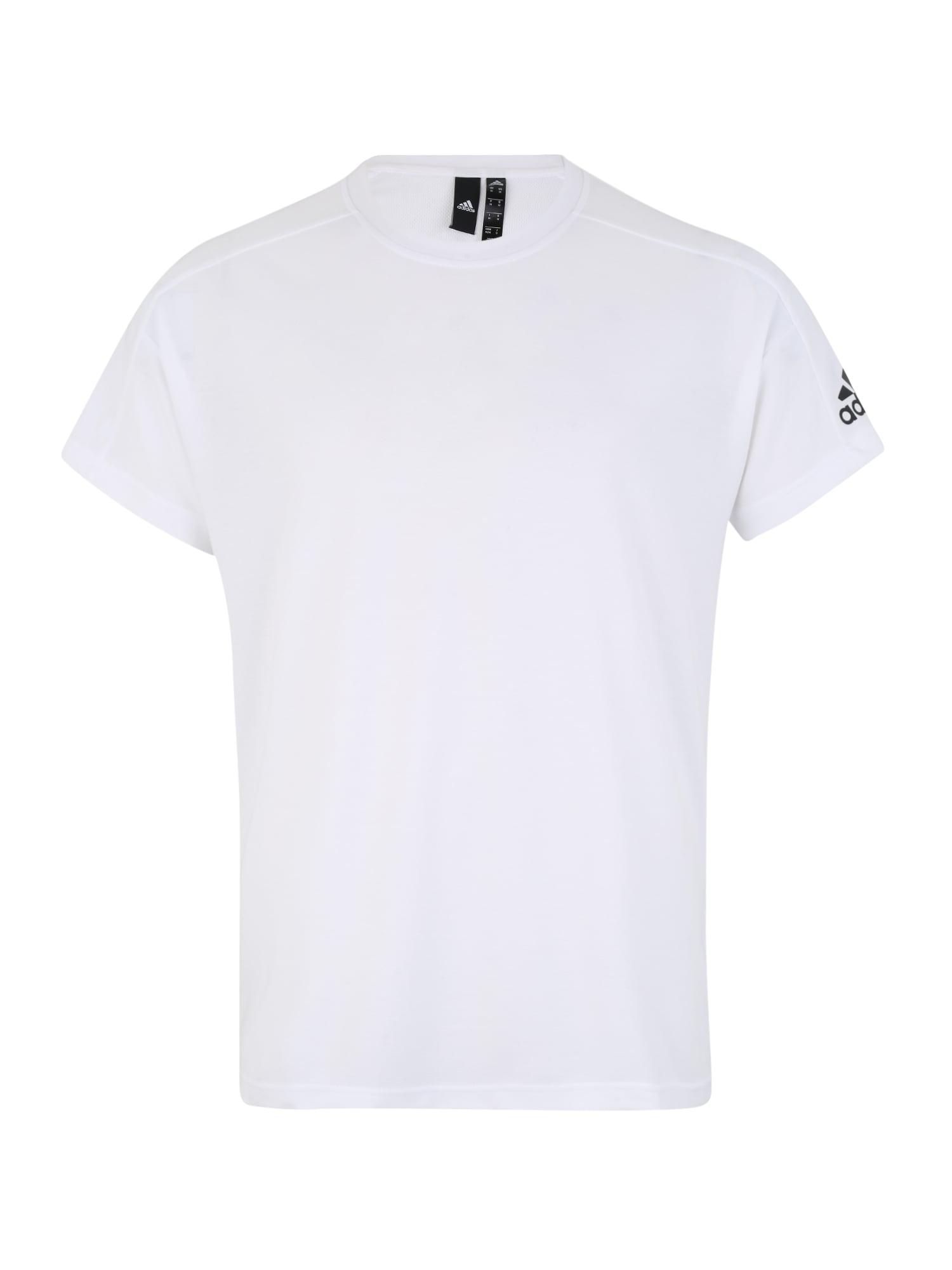 ADIDAS PERFORMANCE Funkční tričko 'ID Stadium'  černá / bílá