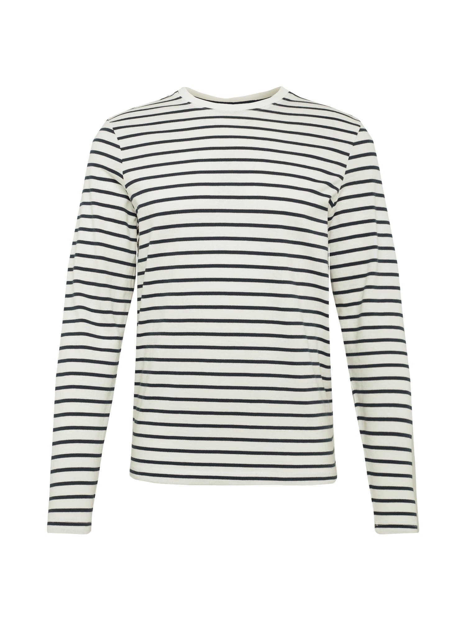 Casual Friday Marškinėliai 'Sean' juoda / balta