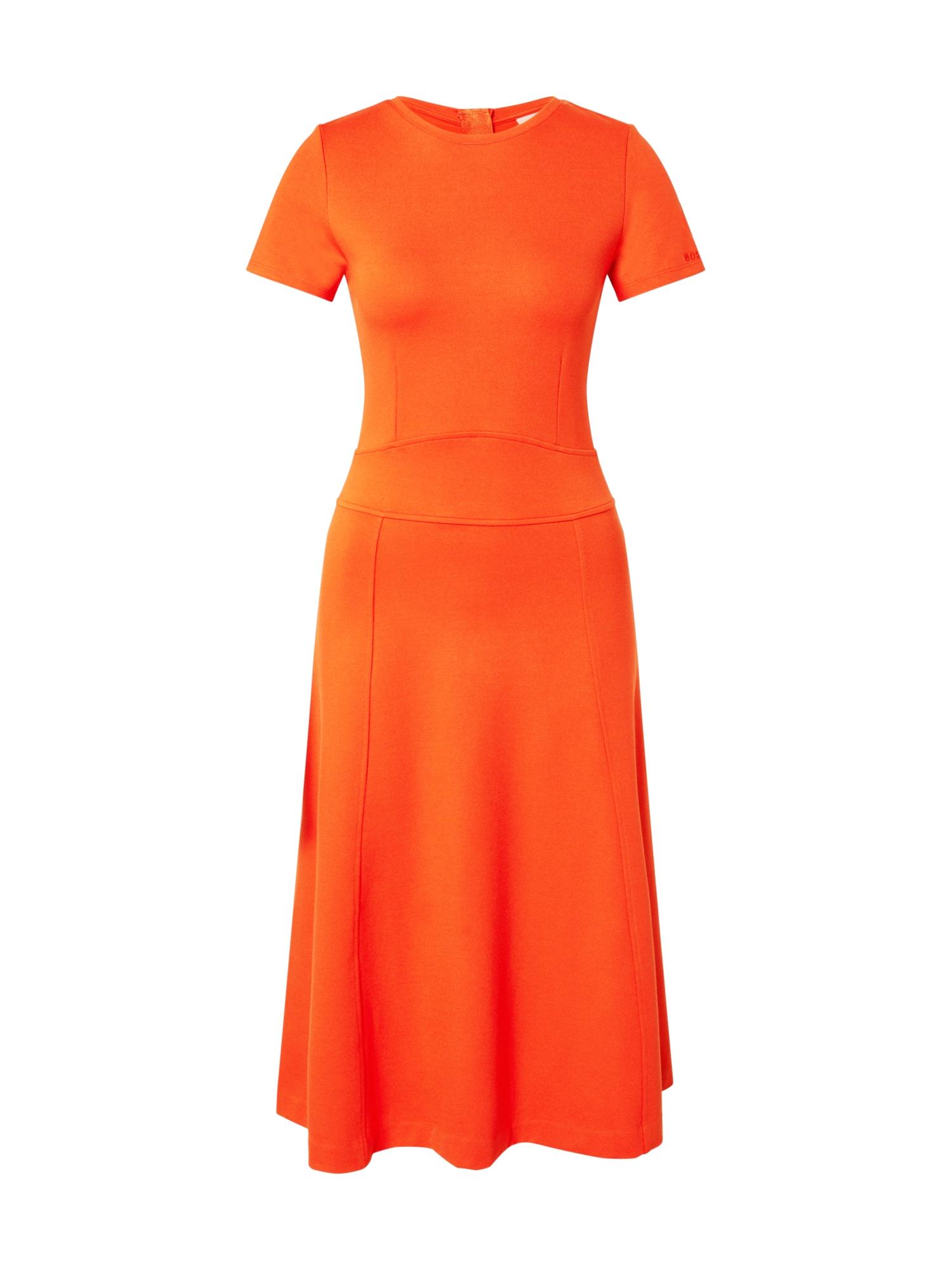 BOSS Suknelė 'Dusca' oranžinė