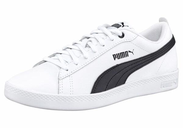Sneakers für Frauen - PUMA Sneakers 'Smash WNS V2 L' schwarz weiß  - Onlineshop ABOUT YOU
