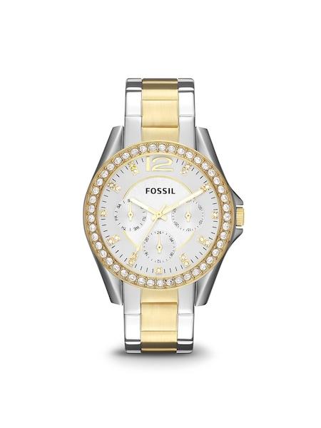 Uhren für Frauen - FOSSIL Uhr 'ES3204' gold silber  - Onlineshop ABOUT YOU