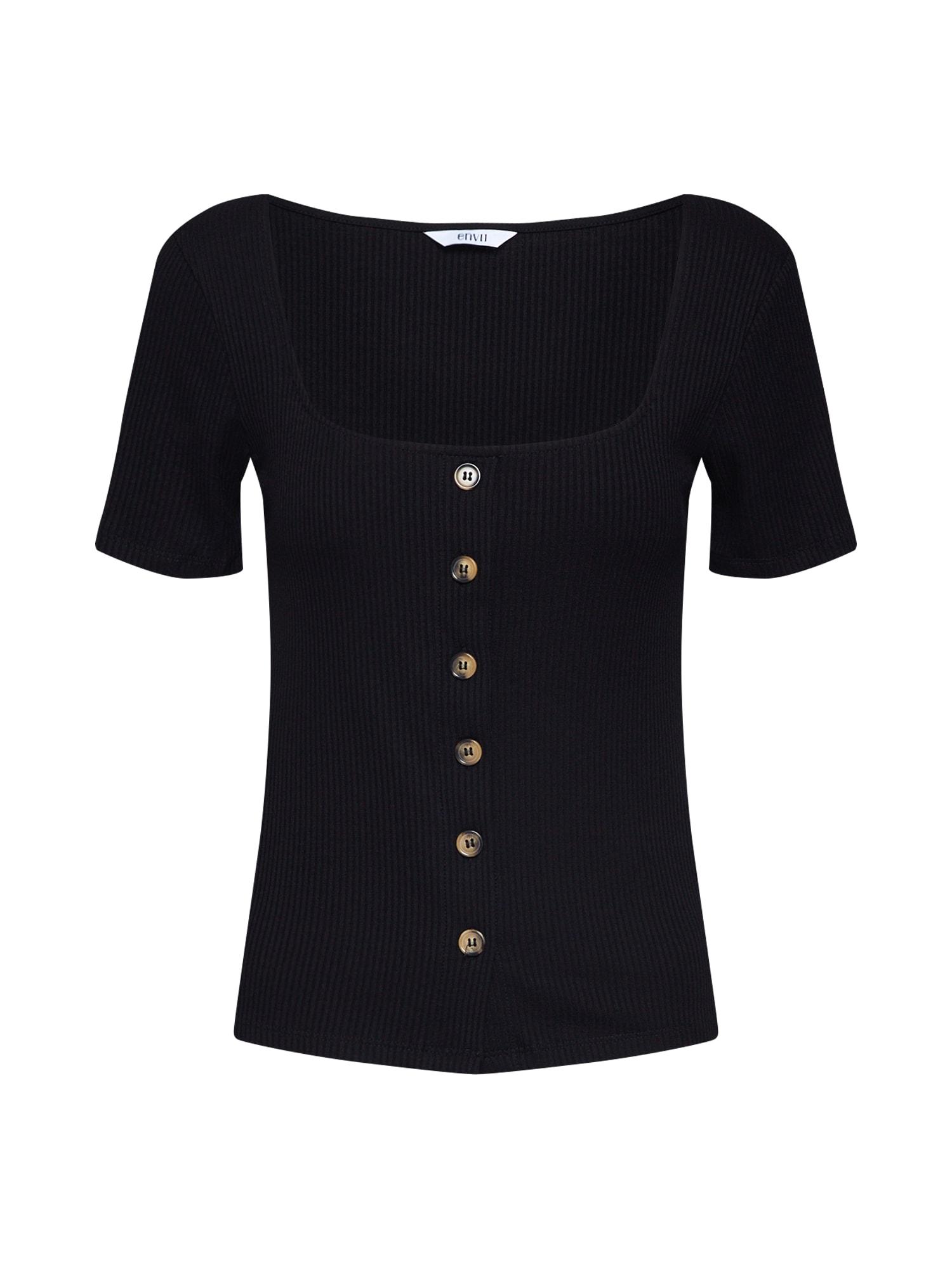 Tričko ABBEY černá Envii