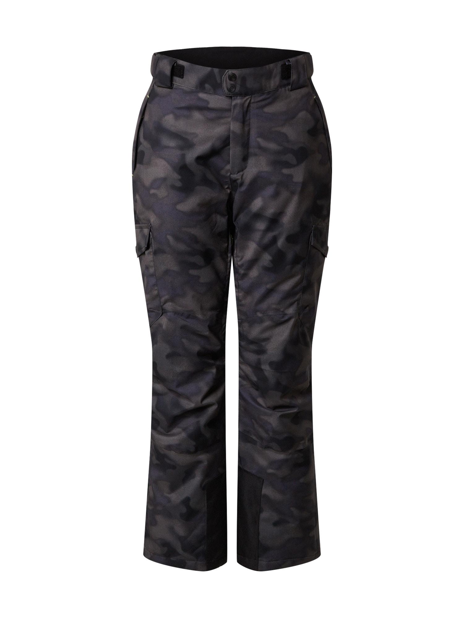 KILLTEC Outdoorové kalhoty 'Combloux'  grafitová / šedá