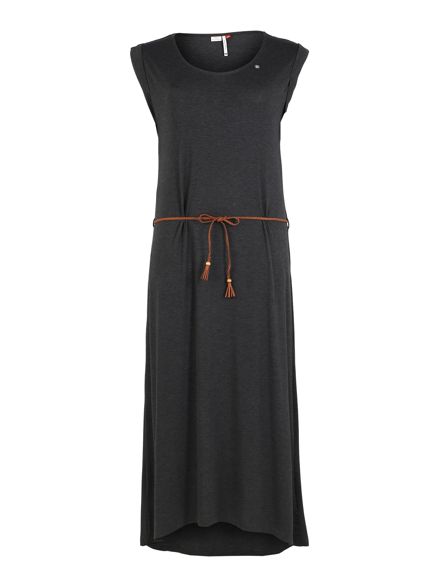 Ragwear Plus Suknelė juoda