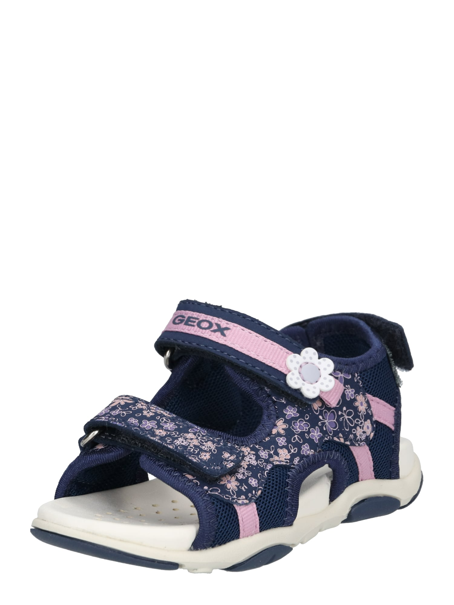 Sandály Agasim námořnická modř růžová GEOX