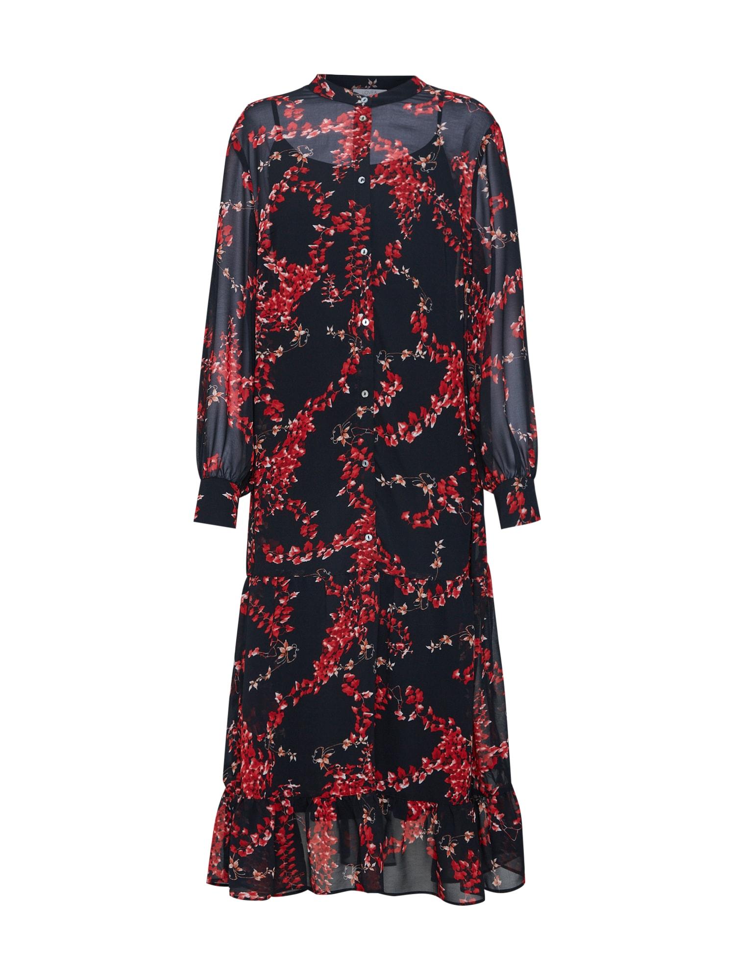 Šaty Love259 červená černá Love & Divine