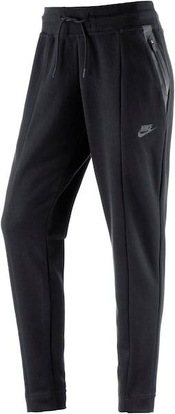 Hosen für Frauen - Nike Sportswear Trainingshose 'Tech Fleece Knit' schwarz  - Onlineshop ABOUT YOU