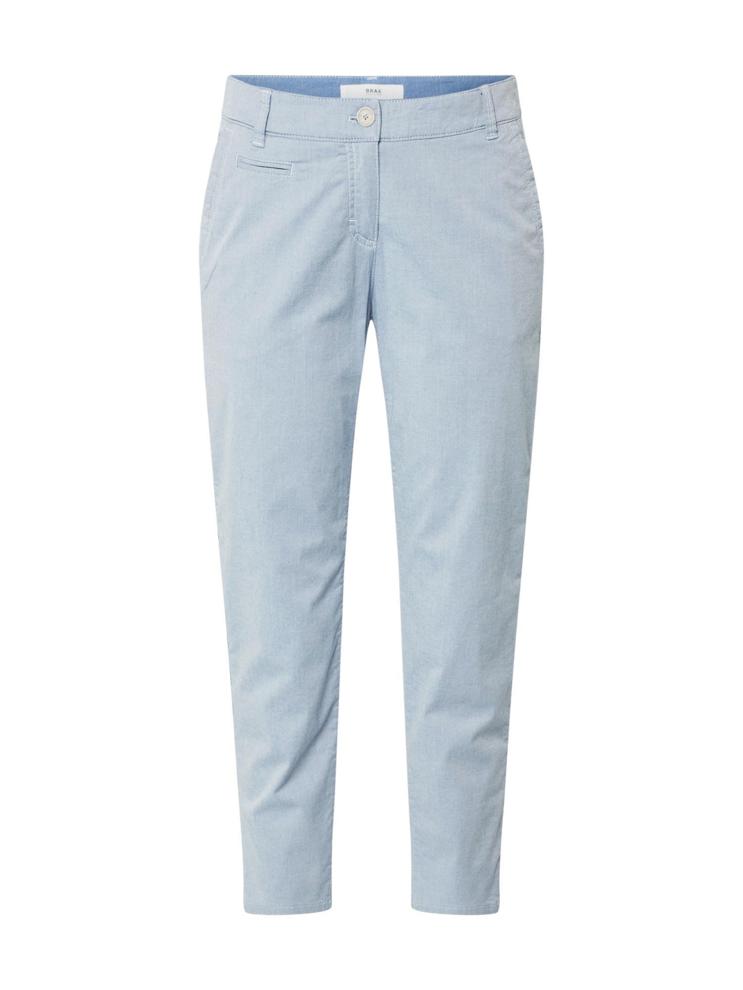 BRAX Chino stiliaus kelnės 'RHONDA S' šviesiai mėlyna