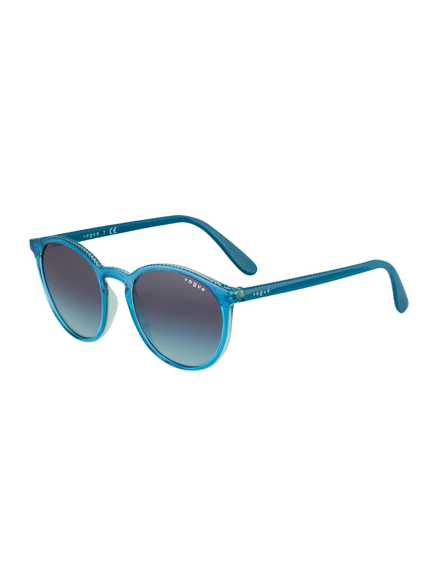 VOGUE Eyewear Akiniai nuo saulės benzino spalva / šviesiai mėlyna