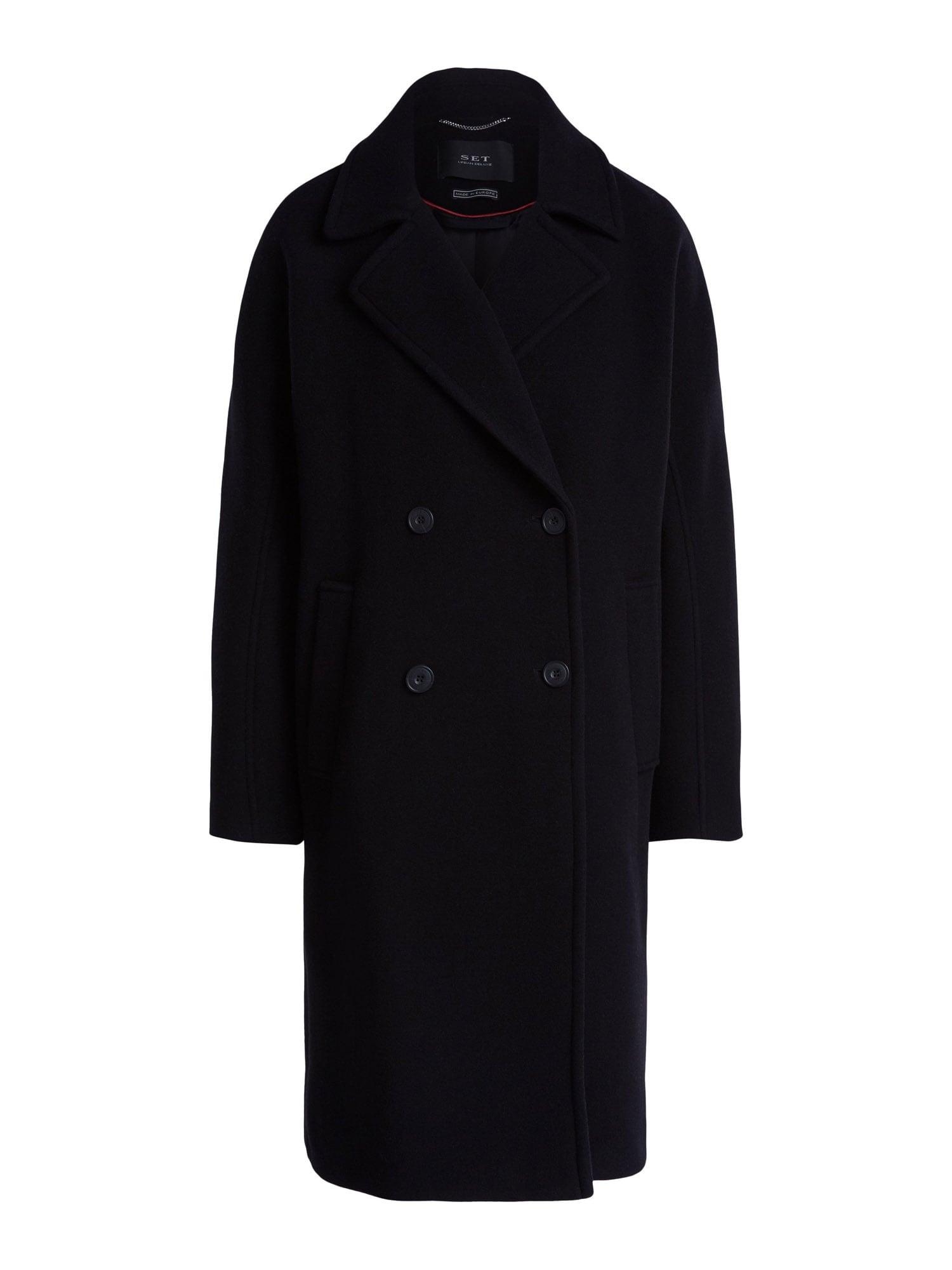 SET Demisezoninis paltas juoda