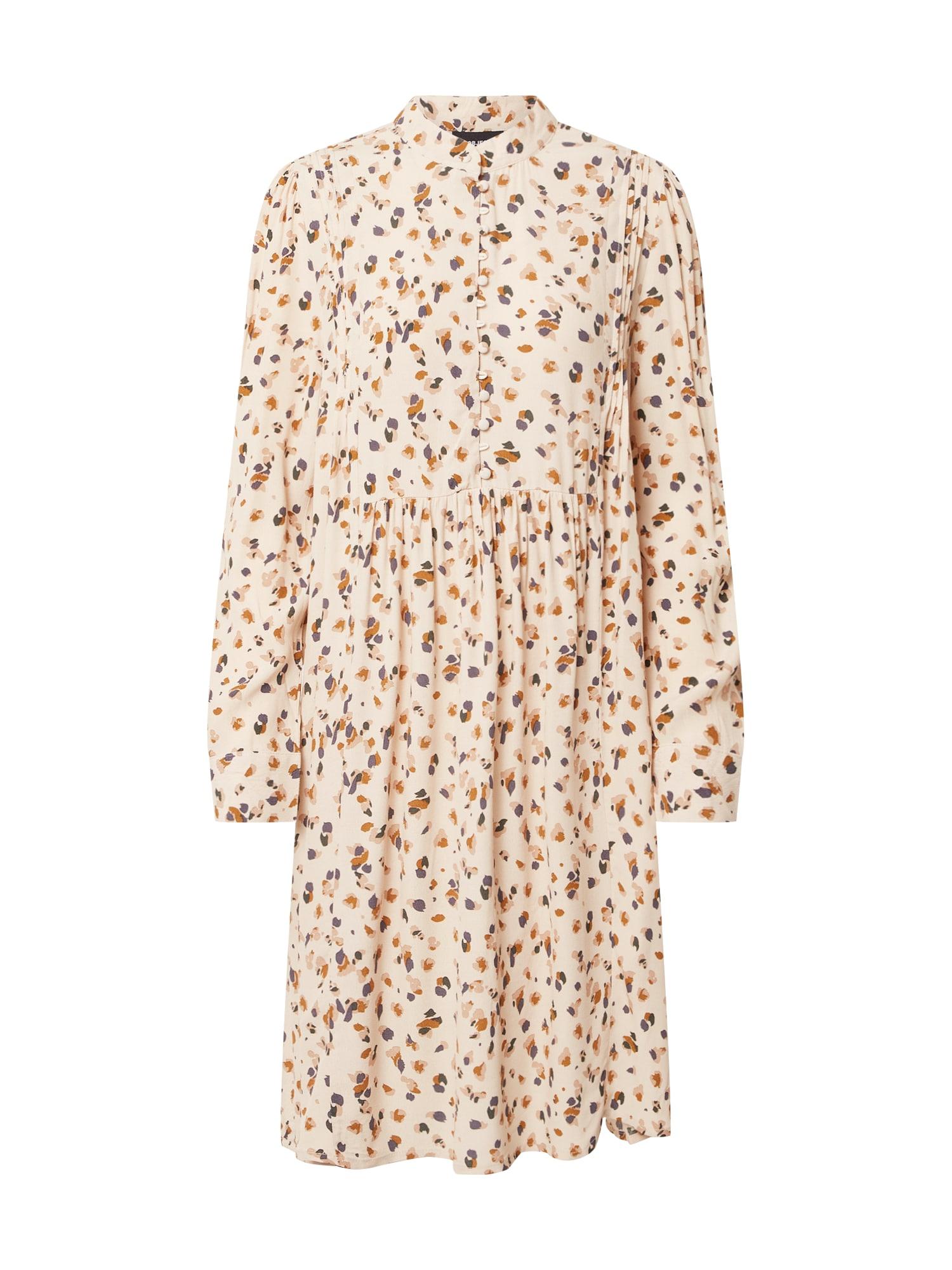 OBJECT Košeľové šaty 'OBJNELLE'  béžová