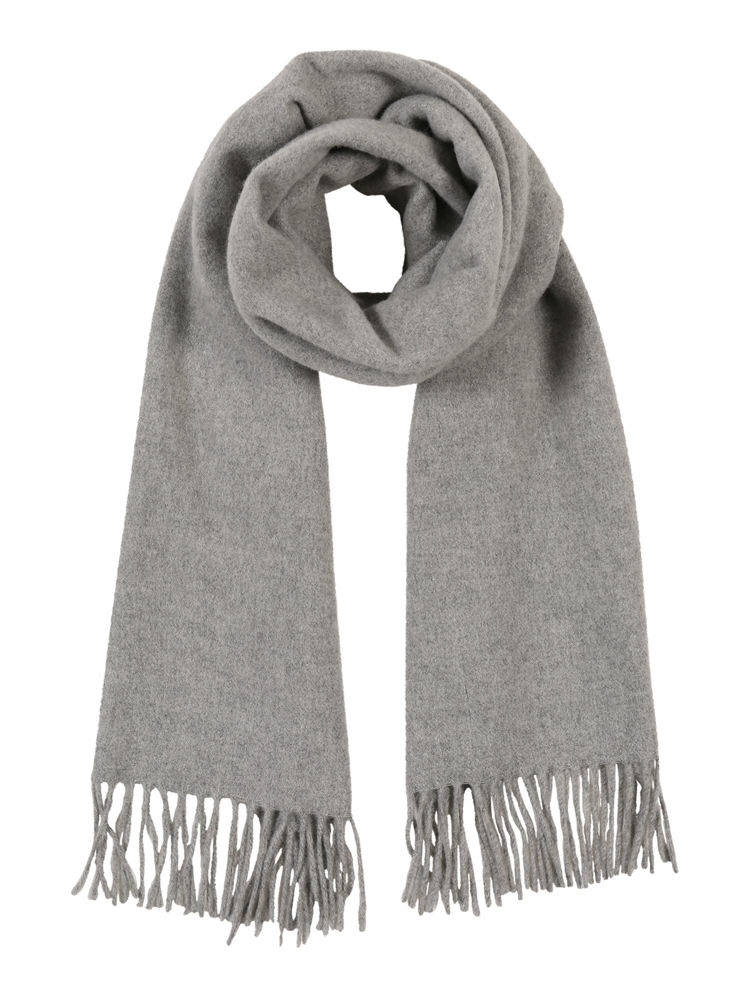 Samsoe Samsoe Fular 'Efin scarf 2862'  gri amestecat