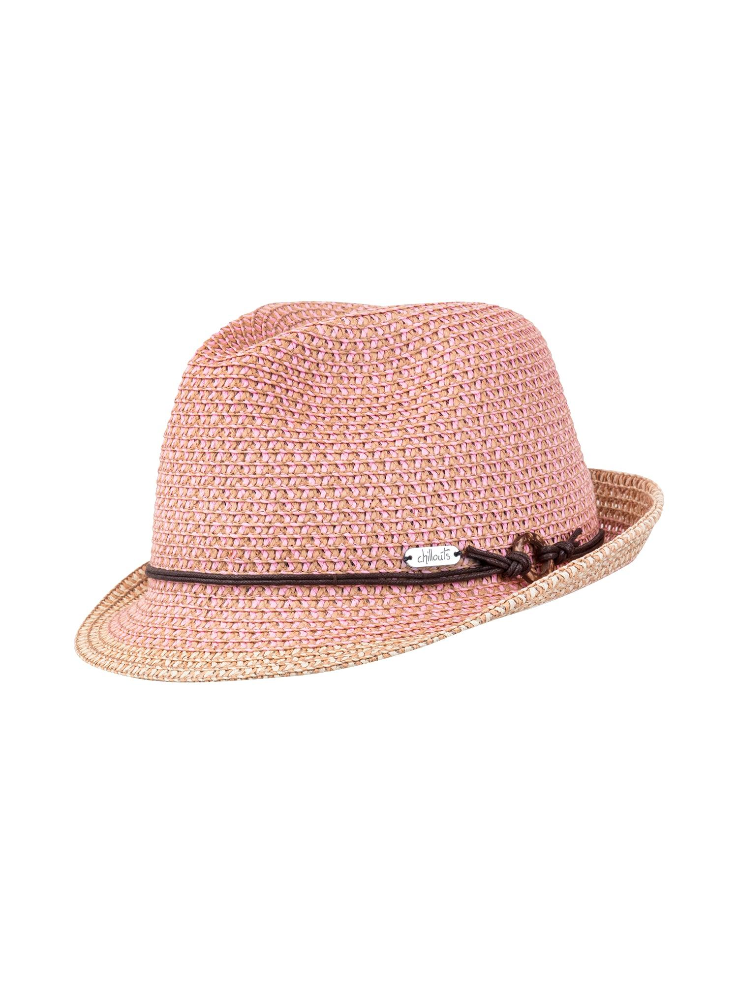 Klobouk Rimini Hat růžová Chillouts