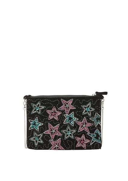 Clutches für Frauen - Q S Designed By Clutch hellblau pink schwarz  - Onlineshop ABOUT YOU