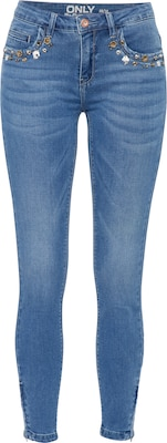 ONLY Skinny Fit Jeans 'Kendell Zoe Ankle Zip'