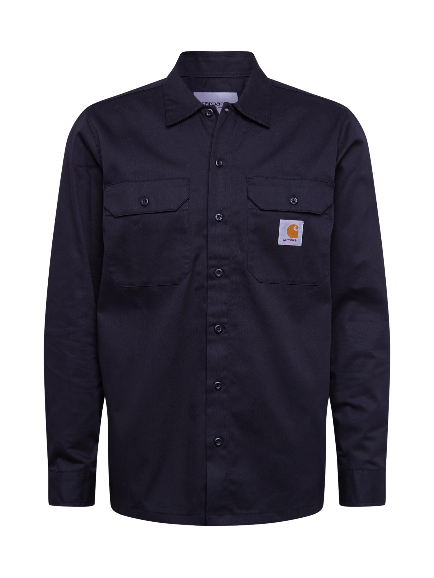 Carhartt WIP Dalykiniai marškiniai juoda