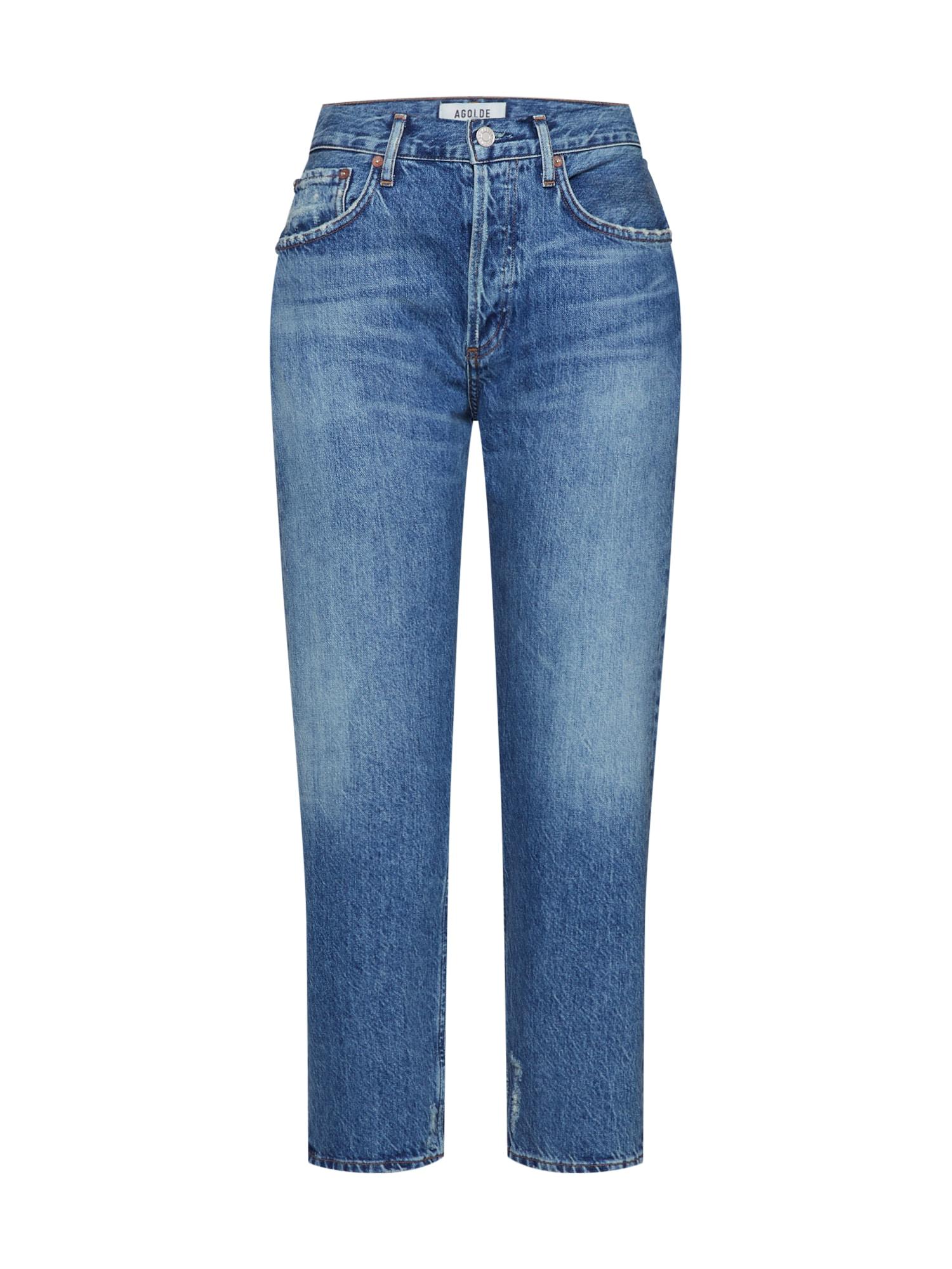 AGOLDE Džinsai 'Parker Jean' tamsiai (džinso) mėlyna
