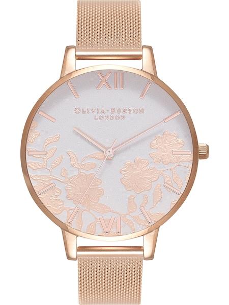 Uhren für Frauen - Damenuhr 'Lace Detail' › Olivia Burton › rosegold  - Onlineshop ABOUT YOU