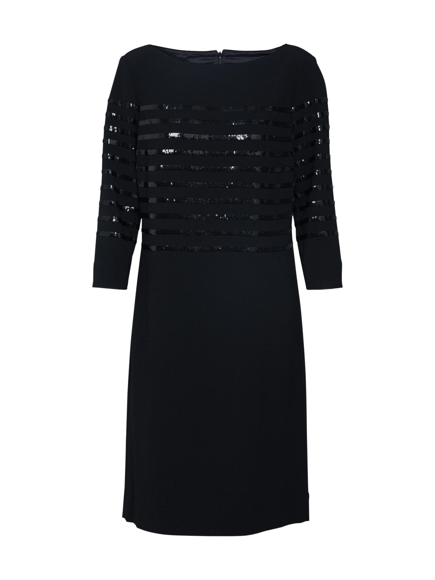Šaty 12020 černá LAUREL