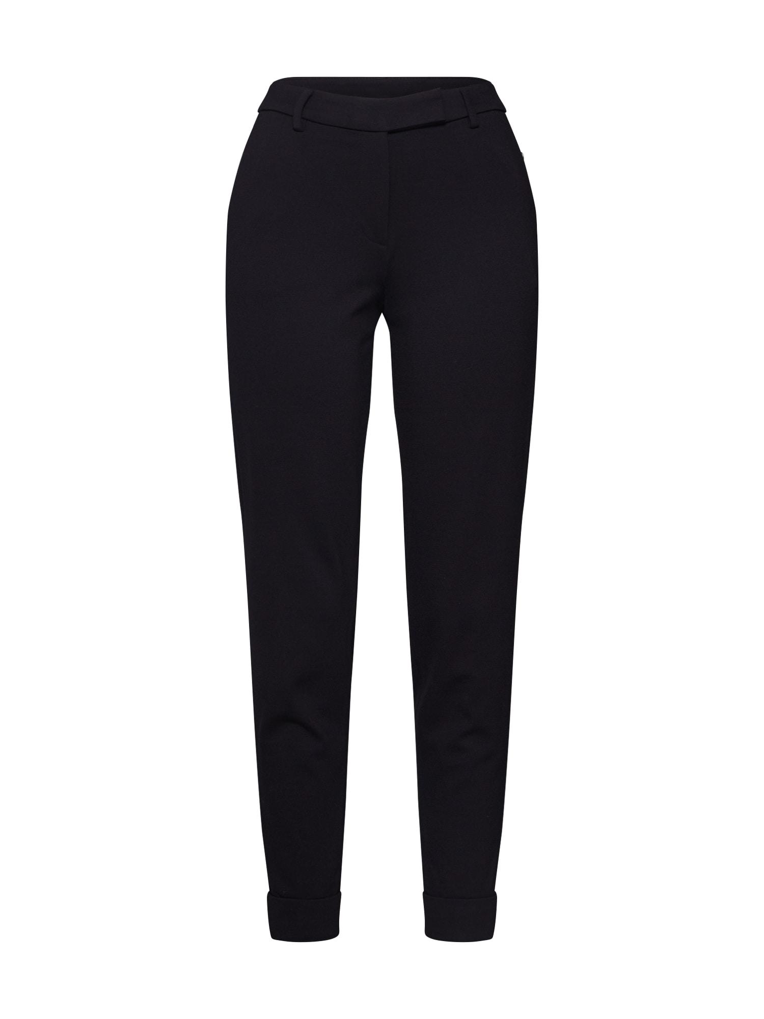 ESPRIT Chino stiliaus kelnės 'Smart Chino' juoda