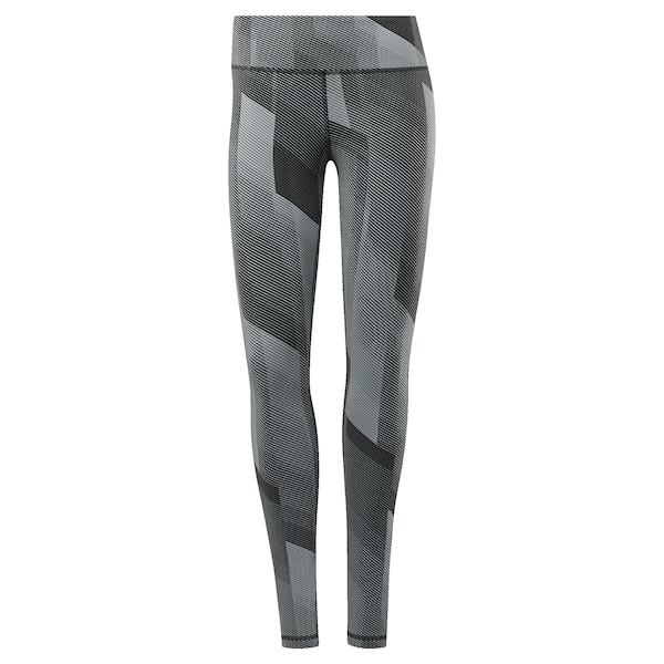 Hosen - Sport Leggings › Reebok › grau schwarz  - Onlineshop ABOUT YOU