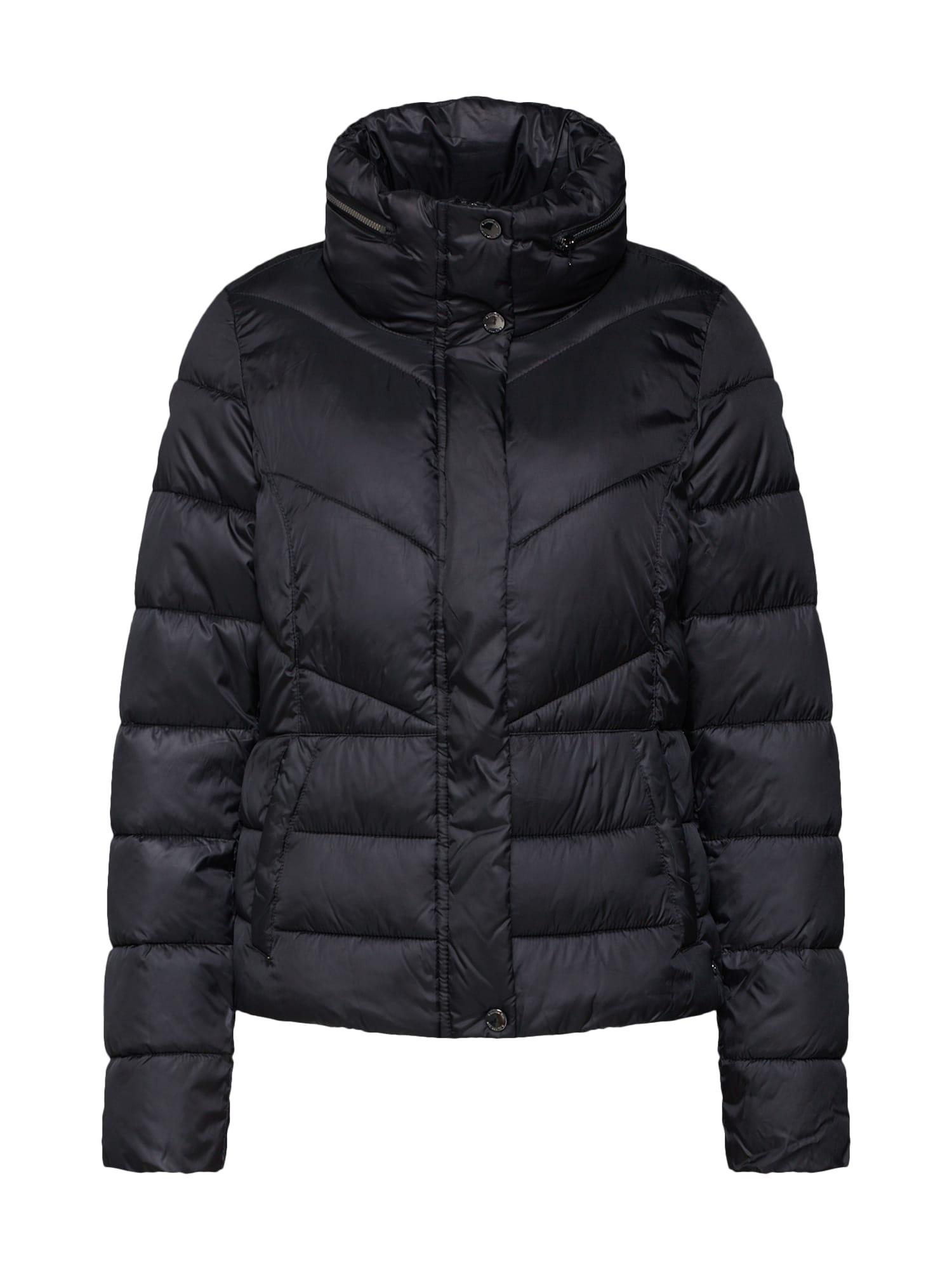 s.Oliver Zimná bunda  čierna