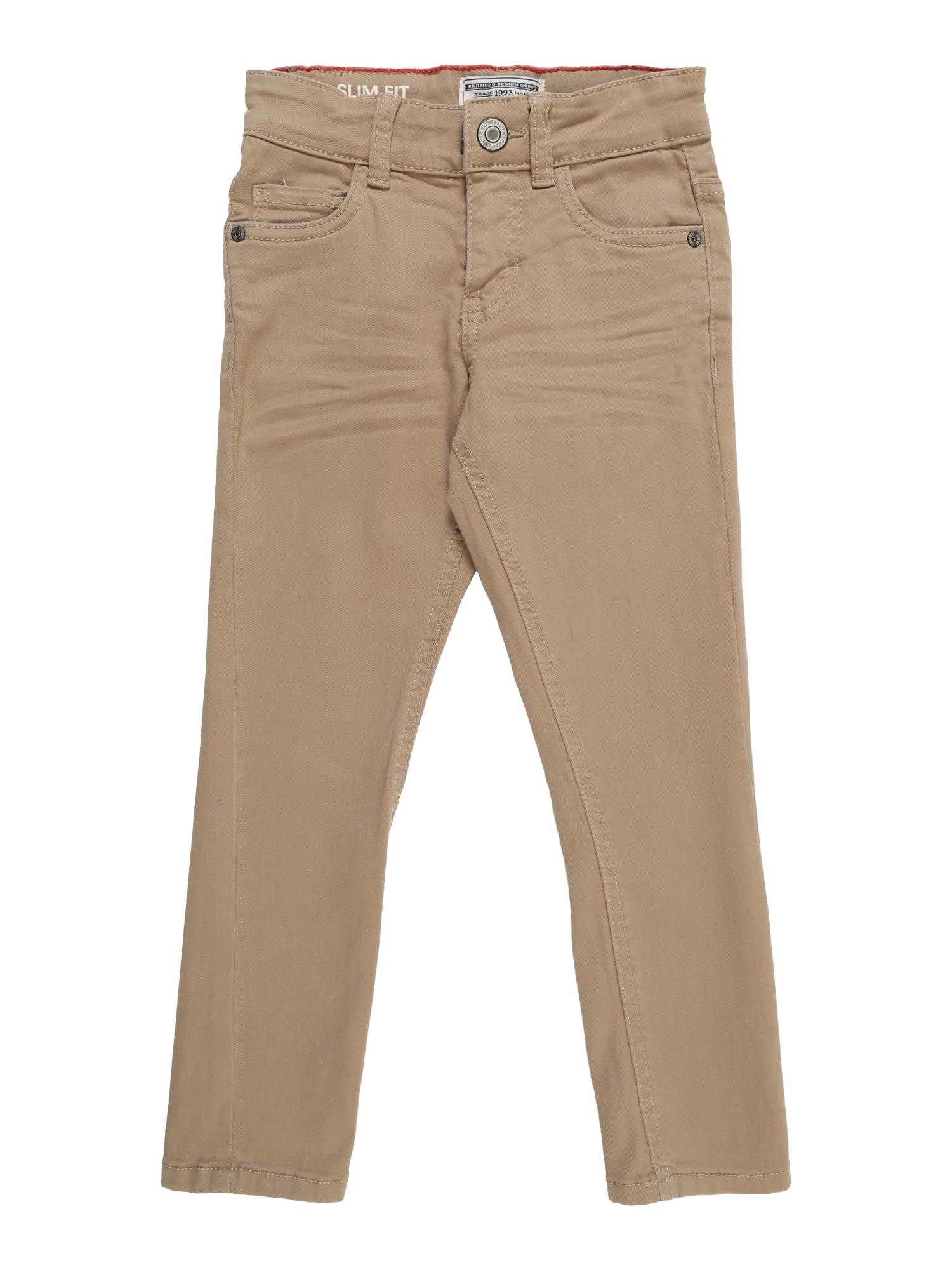 Kalhoty KB-19-P201SLSK velbloudí REVIEW FOR KIDS
