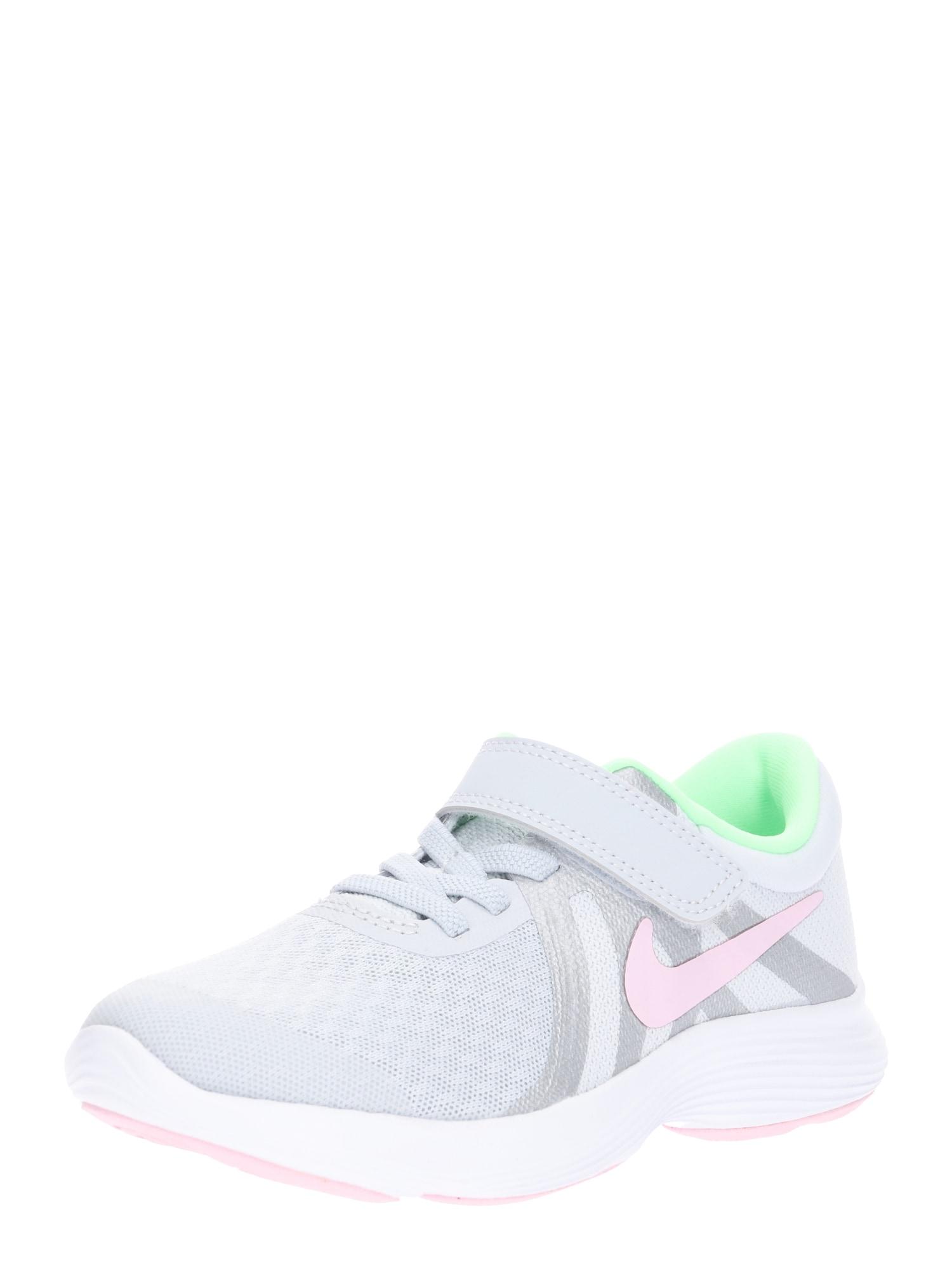 Sportovní boty Revolution 4 světle šedá NIKE