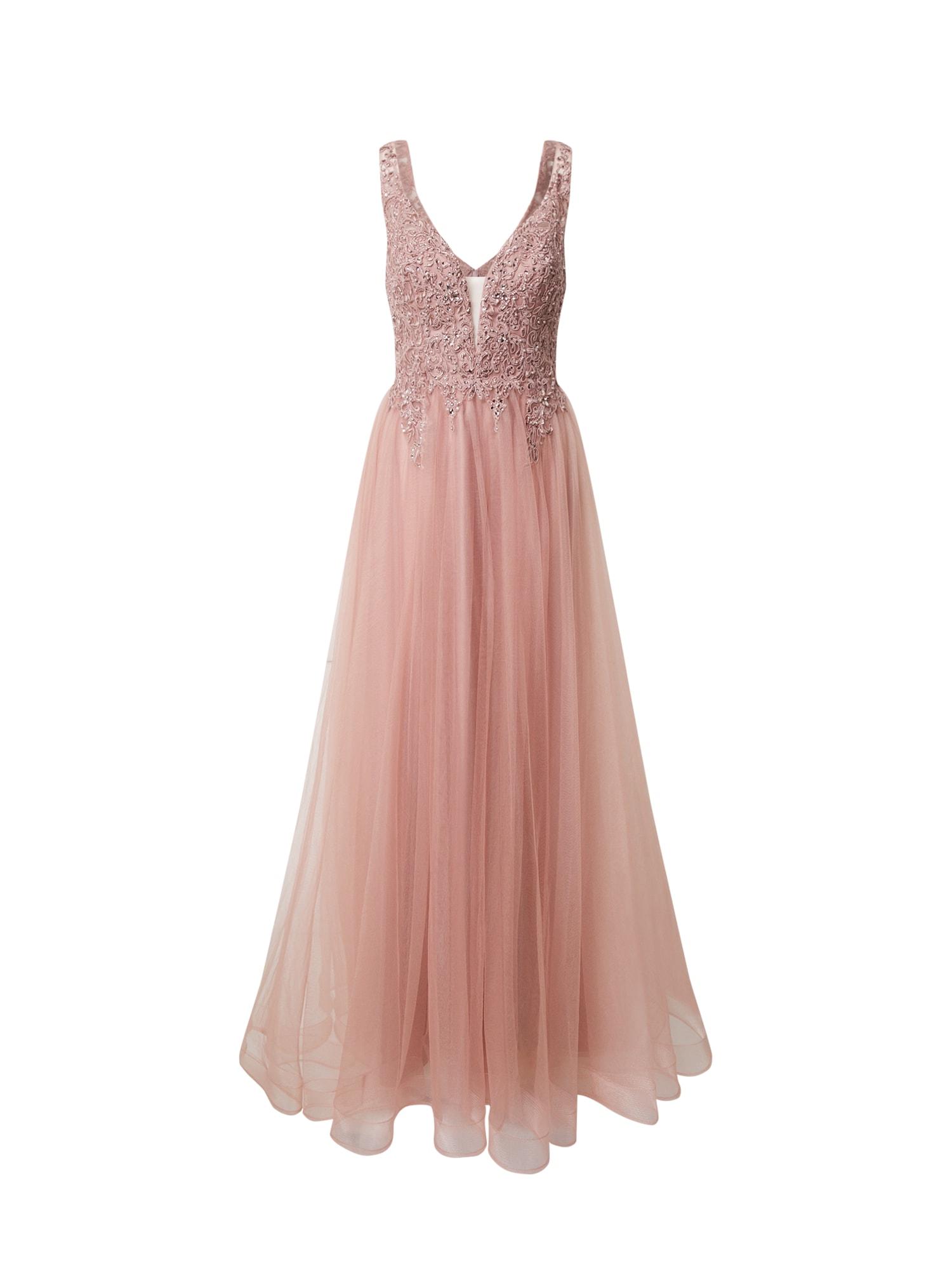 Unique Suknelė pudros spalva