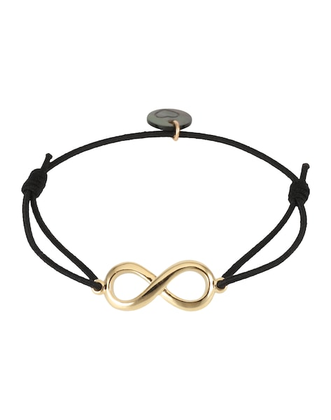 Armbaender für Frauen - Lua Accessories Armband 'Endless' gold schwarz  - Onlineshop ABOUT YOU