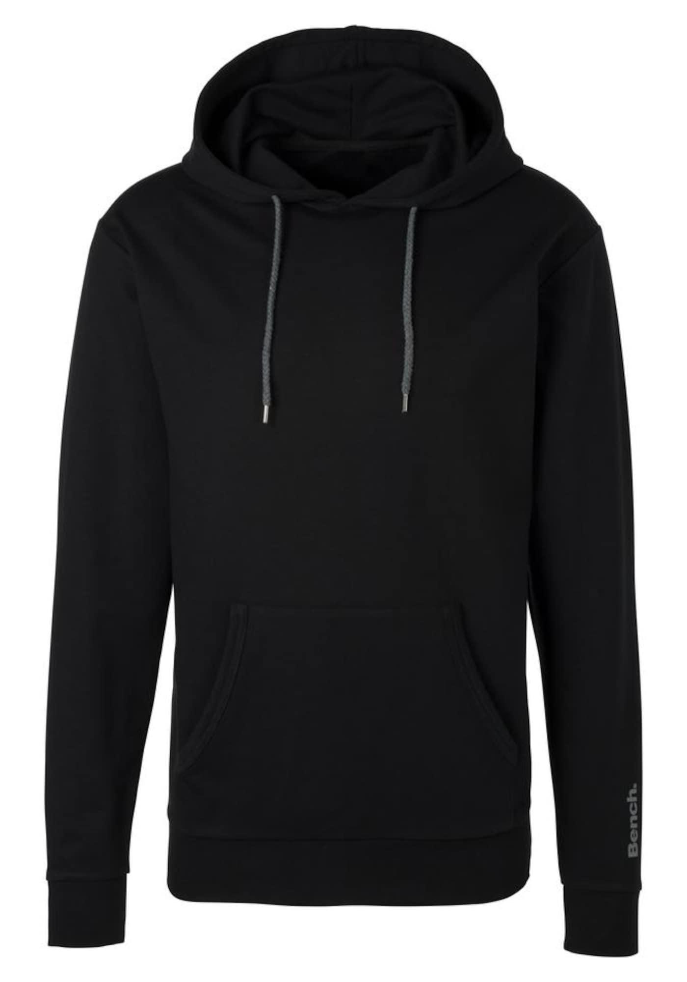 BENCH Megztinis be užsegimo juoda