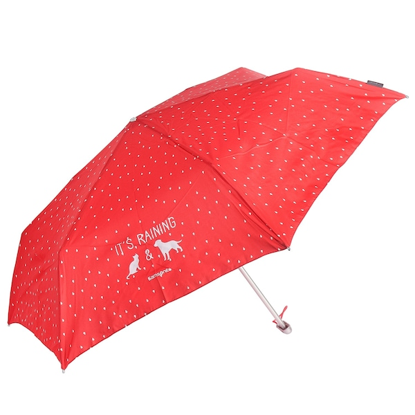Regenschirme für Frauen - SAMSONITE Accessoires Taschenschirm IV 23,5 cm rot weiß  - Onlineshop ABOUT YOU