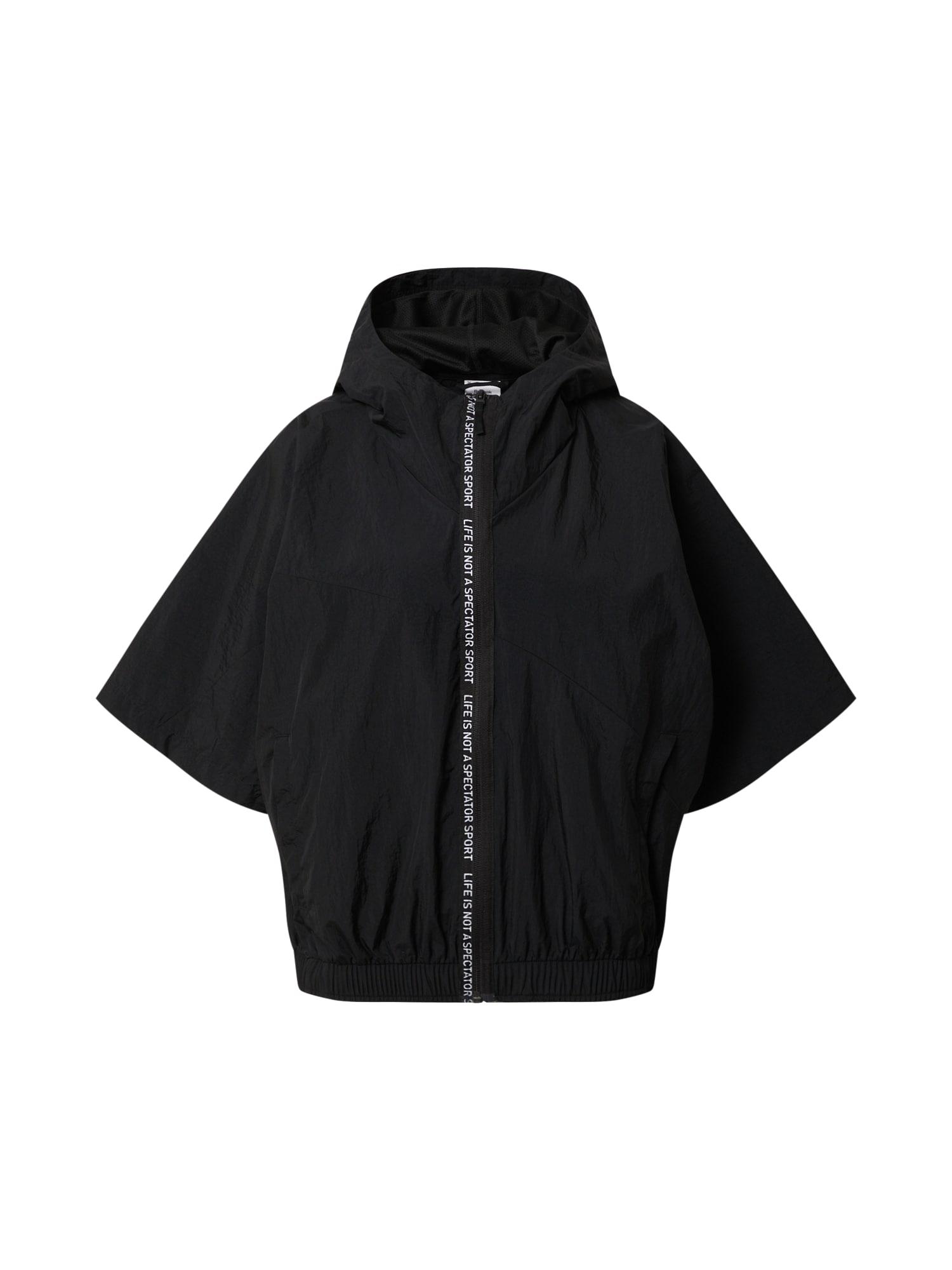 REEBOK Športová bunda  čierna