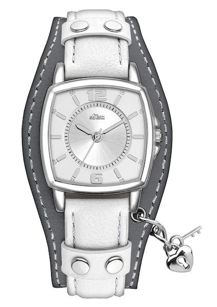 Uhren für Frauen - S.Oliver RED LABEL Armbanduhr, ''SO 2383 LQ'' weiß  - Onlineshop ABOUT YOU