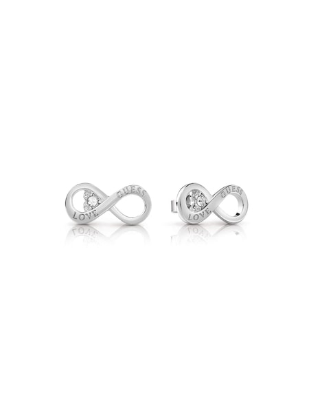 Ohrringe für Frauen - GUESS Ohrringe 'Endless Love' silber  - Onlineshop ABOUT YOU
