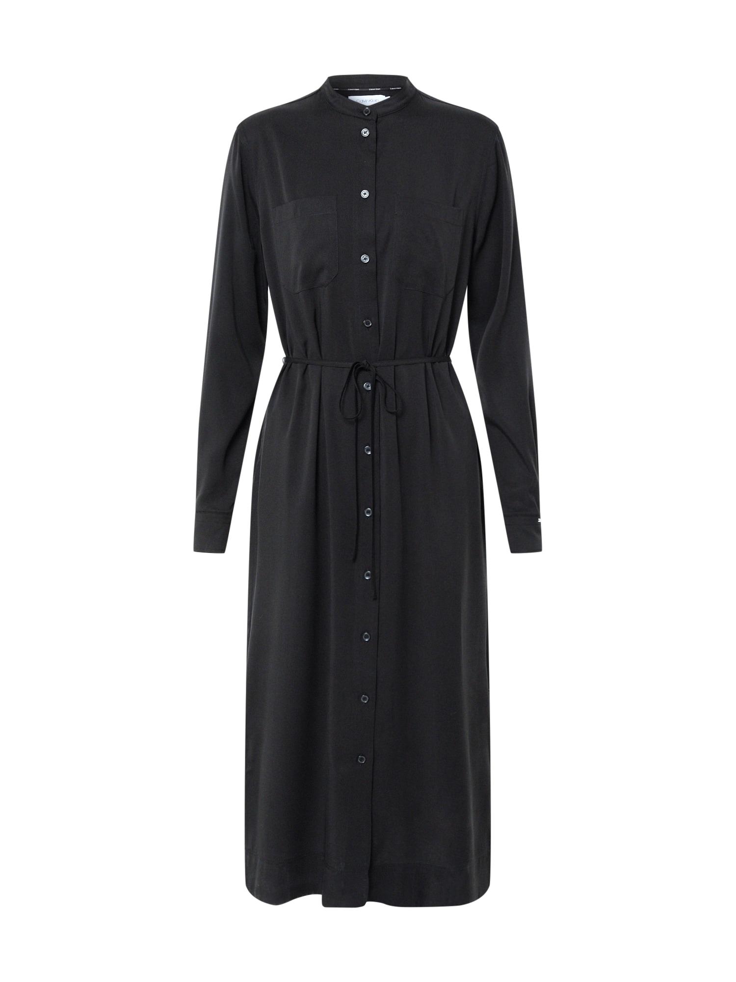 Calvin Klein Vakarinė suknelė juoda