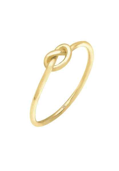 Ringe für Frauen - ELLI PREMIUM Ring 'Knoten' gold  - Onlineshop ABOUT YOU