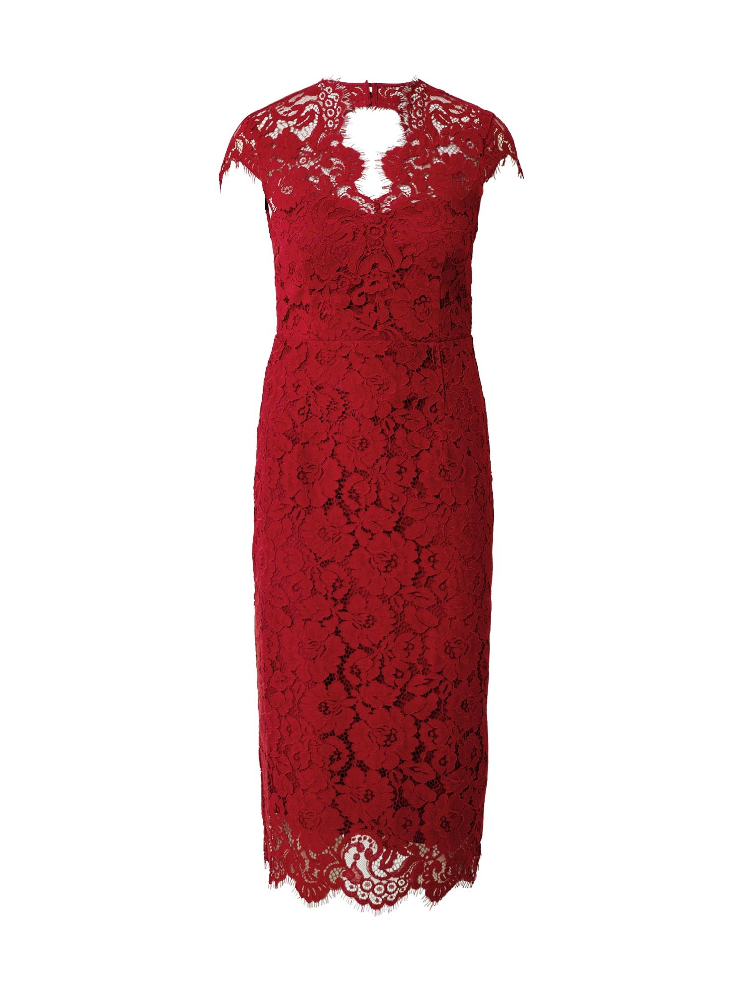 IVY & OAK Suknelė rūdžių raudona