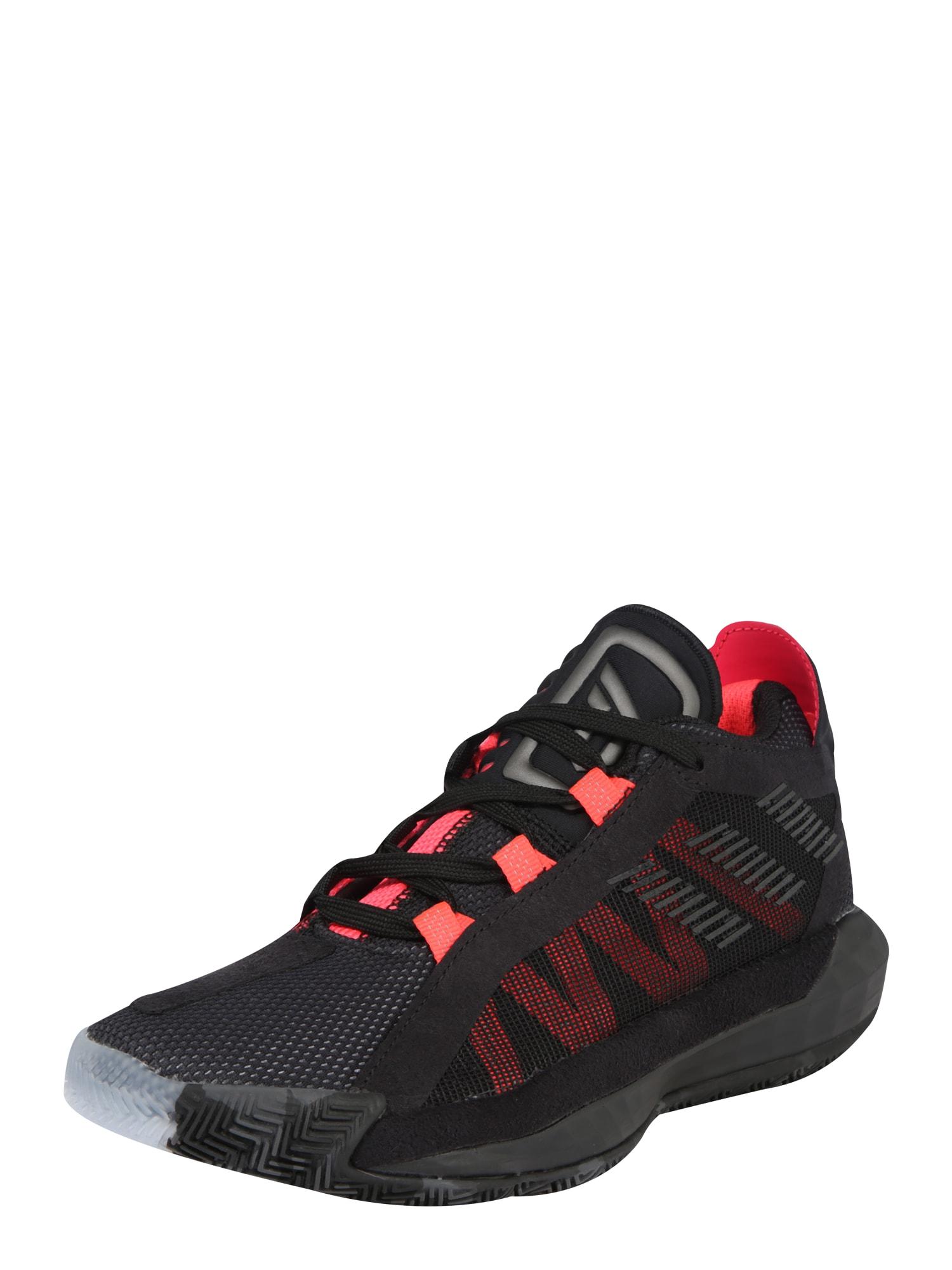 ADIDAS PERFORMANCE Športová obuv  čierna / červené