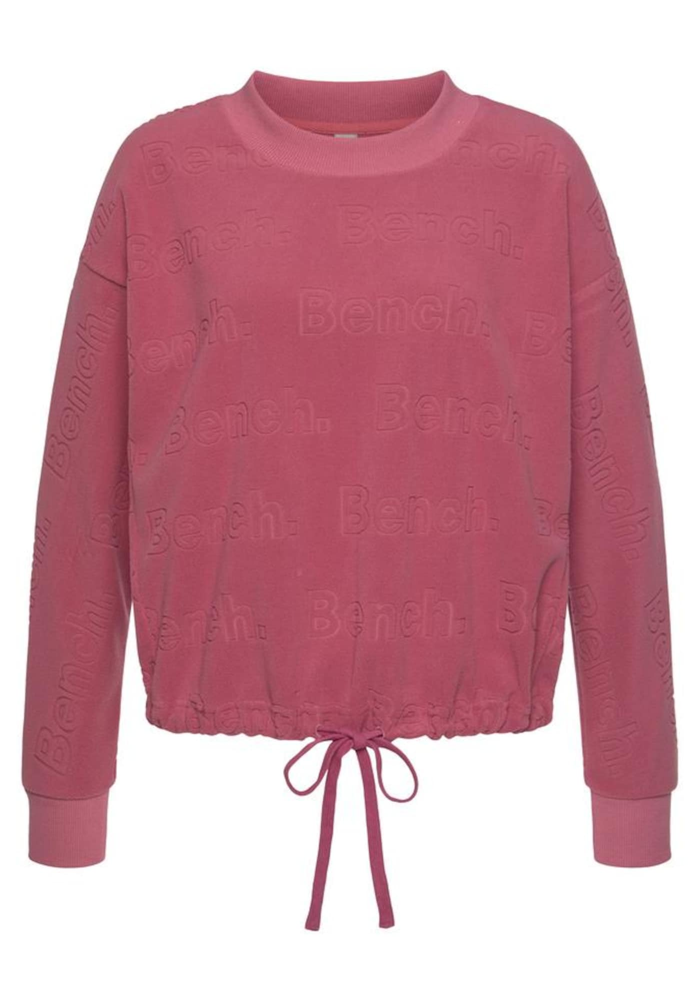 BENCH Megztinis be užsegimo raudona