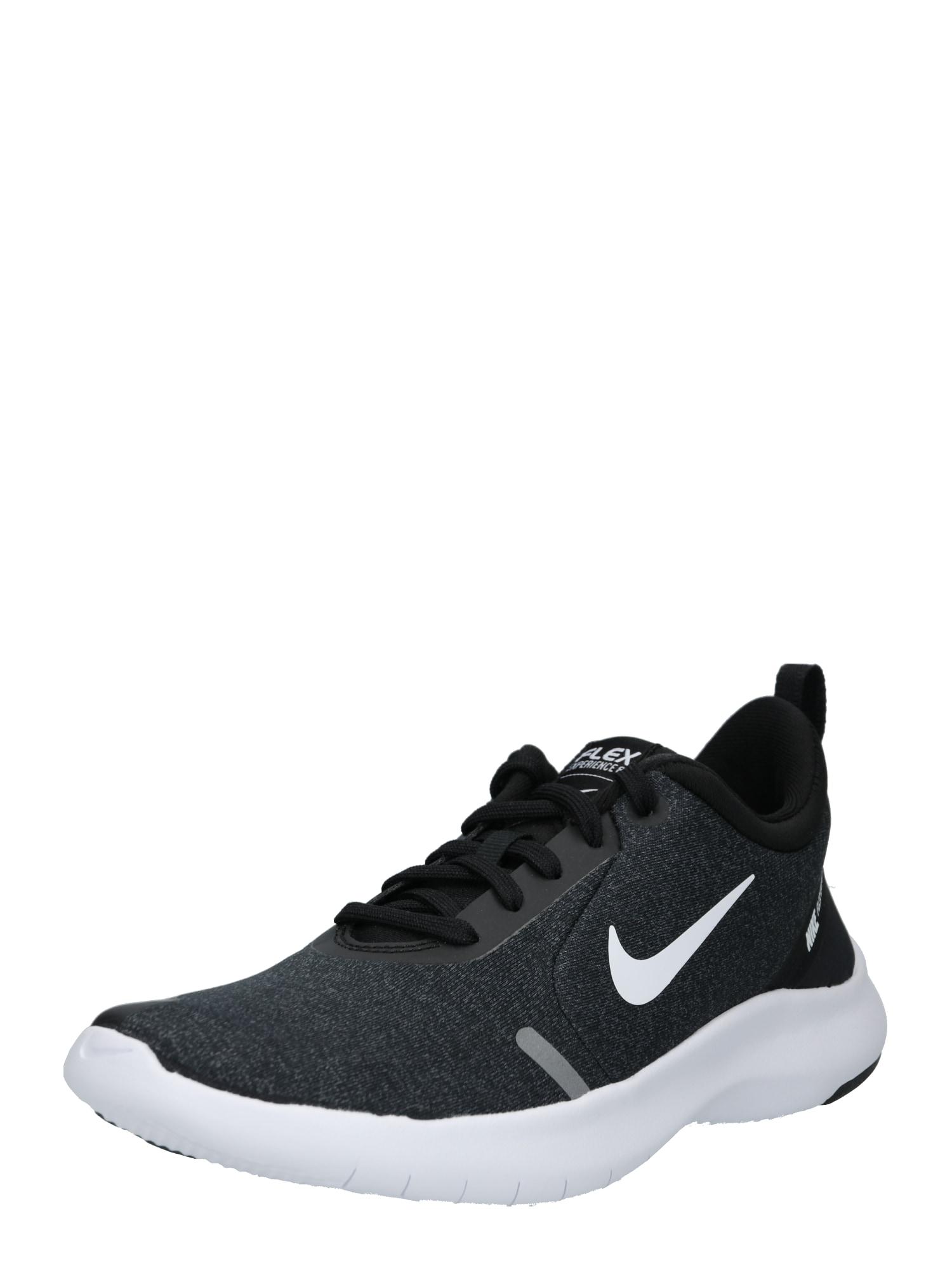 Sportovní boty Nike Flex Experience RN 8 černá bílá NIKE